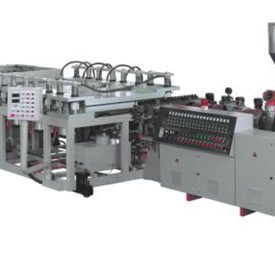 PVC CRUST FOAMED SHEET PRODUCTION LINE