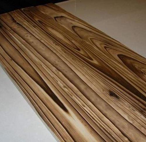 表面炭化木