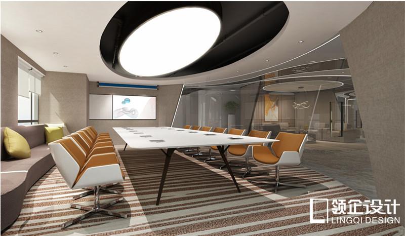 北大未名會議室裝修設計案例