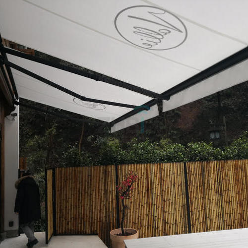 六合塔民宿项目_遮阳篷案例