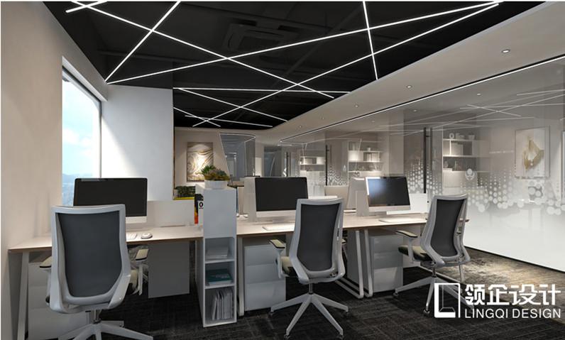 北大未名办公区装修设计案例