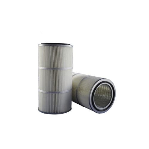 AIR FILTER CARTRIDGE / DUST / POLYESTER / PLEATED