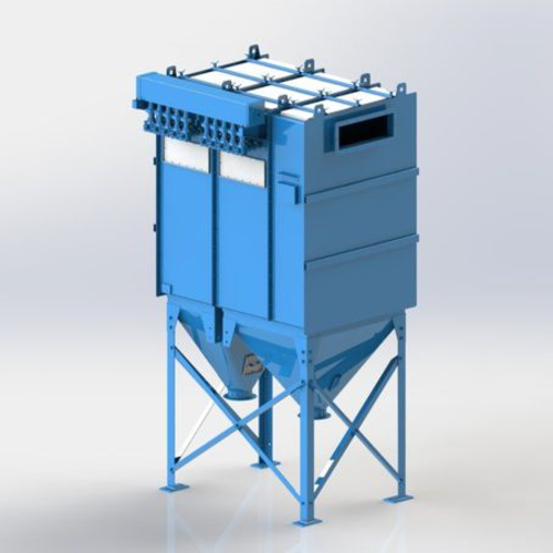 FILTER DUST COLLECTOR / MODULAR / HIGH-EFFICIENCY