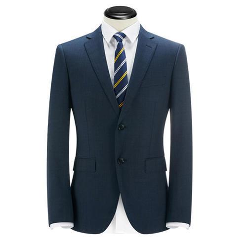 金融版高档量身定做总经理修身西装
