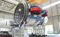 我国首台超导回旋质子治疗系统核心部件旋转机架调试成功
