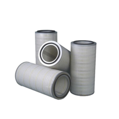 GAS FILTER CARTRIDGE / DUST / COMPOSITE / PLEATED