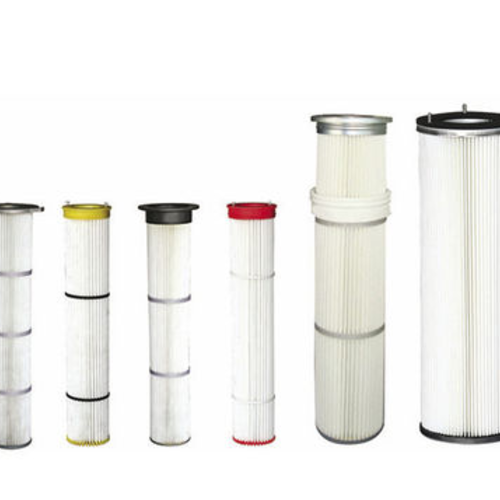 GAS FILTER CARTRIDGE / FINE / POLYESTER / FOR GENERAL PURPOSE