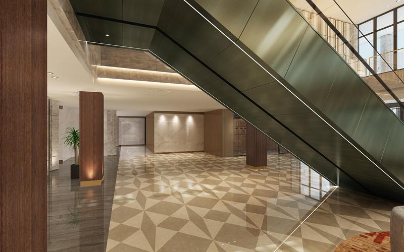 自动扶梯装潢安装2