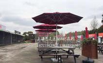 上海植物园户外遮阳伞
