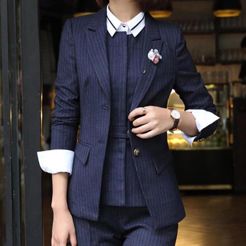 時尚小西服氣質工裝面試裝女士正裝工作服