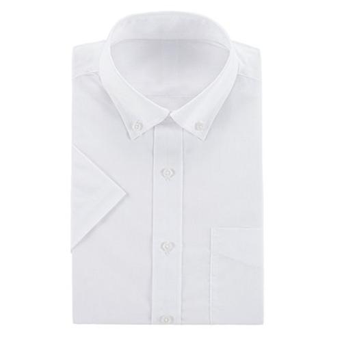 高档白领商务楼经理短袖修身衬衫
