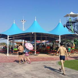 游乐园膜结构