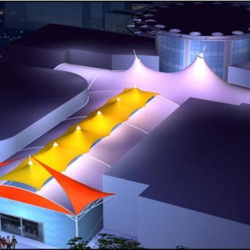 屋顶膜结构