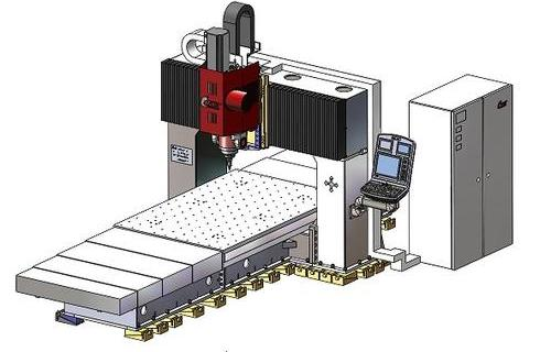 中型靜龍門攪拌摩擦焊設備
