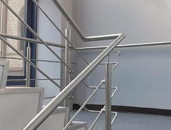 Rod handrail railing