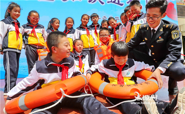 秦皇岛:水上安全知识进校园