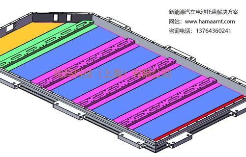 动力电池箱体底板加工解决方案