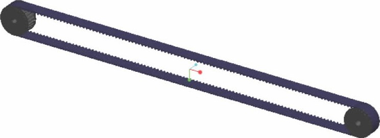 图3 同步带轮的装配体