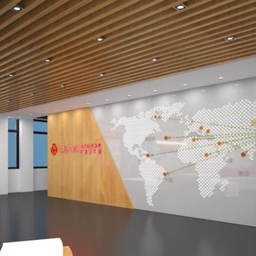 党建文化展厅设计,效果图设计