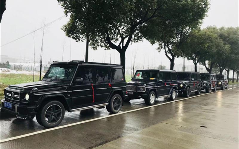 婚车车队-奔驰G婚车(黑色)