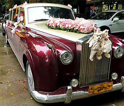 上海婚车低价-劳斯莱斯老爷车婚车