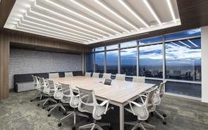 办公室屋顶装饰推荐什么风格?