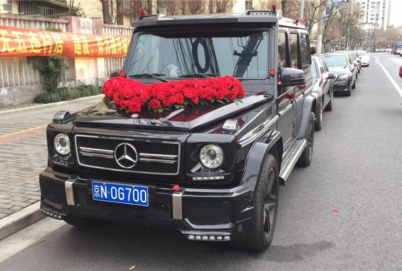 婚庆租车-奔驰大G婚车(黑色)