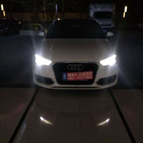 贵阳奥迪A3车灯升级改装米石M2系列LED性能版【贵阳翼车汇改灯】