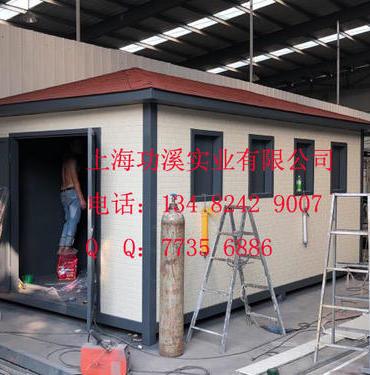 上海功溪垃圾房厂家,专用生产各种款式垃圾房