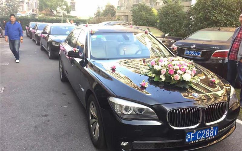 上海婚车租车-宝马7系婚车