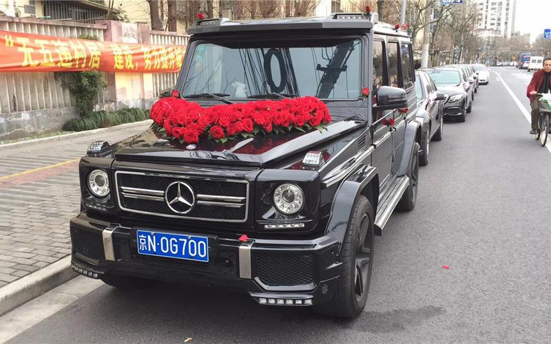 婚庆租车-奔驰大G婚车(黑色) HOT