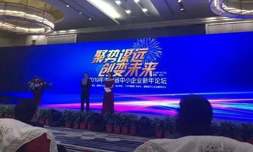 聚势谋变,创变未来!——2019 年湖南中小企业新年论坛顺利落幕