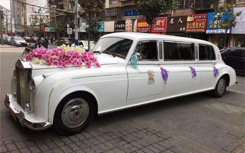 婚车租赁-上海劳斯莱斯银云婚车