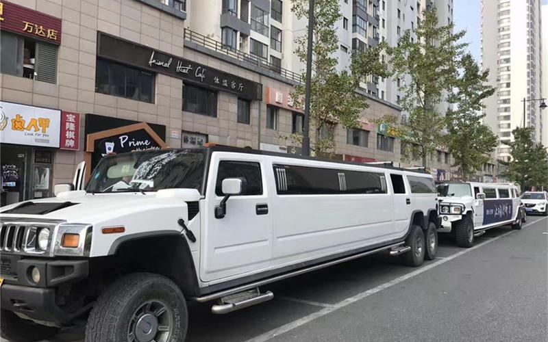 婚车租赁-悍马H2加长婚车