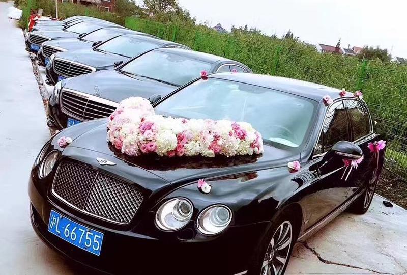 上海婚车租赁 上海婚礼租车 婚车扎花 婚车搭配 婚车租赁价格