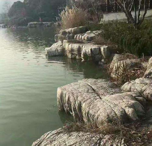 龜紋石駁岸