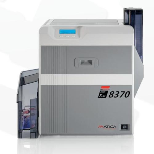 超清 XID8370再转印证卡打印机