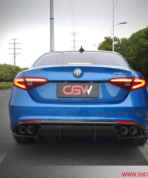 阿尔法Giulia-2.0T改装CGW中尾阀门排气