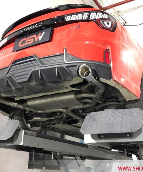 领克03改装CGW中尾段阀门排气