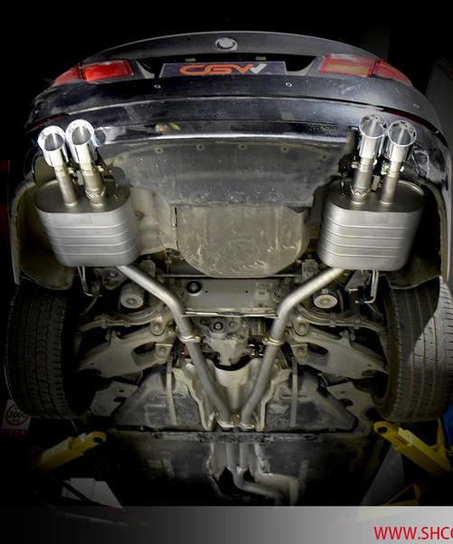 宝马525li N20 2.0T改装CGW中尾阀门排气