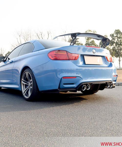 宝马BMW M4 改装CGW全段阀门排气