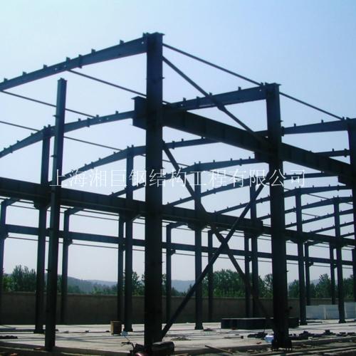 楼顶加层钢结构