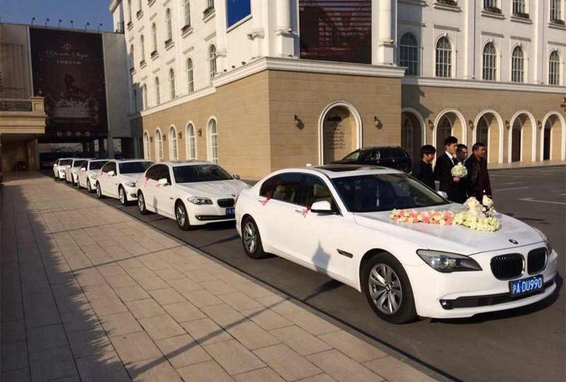 结婚婚车一般要几辆?上海婚车租赁公司 宝马5系婚车价格