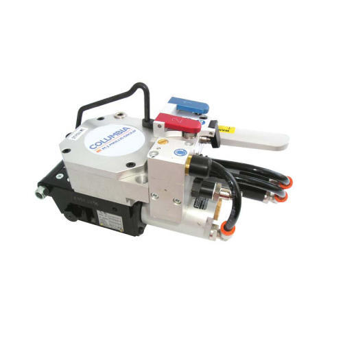 ST POLI 25HT pneumatic steel strapping machine