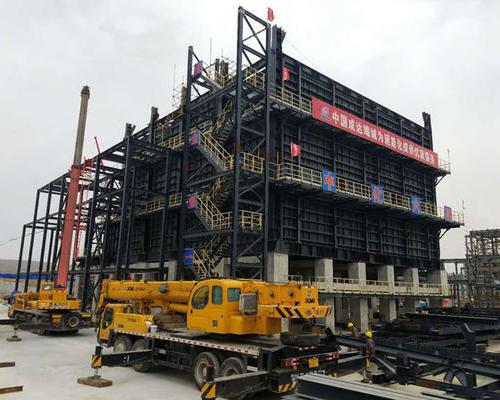 延安煤油气资源综合利用项目一段炉辐射段