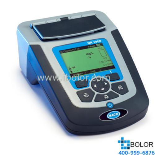 DR1900便携式分光光度计(多参数分析仪)HACH/哈希