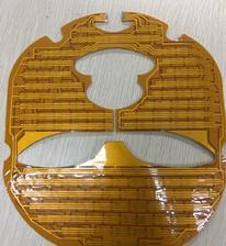 廣州FPC電路板LED柔性美容儀器面具面罩線路板低價批發生產