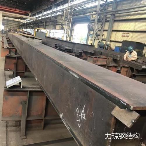 钢柱梁焊接