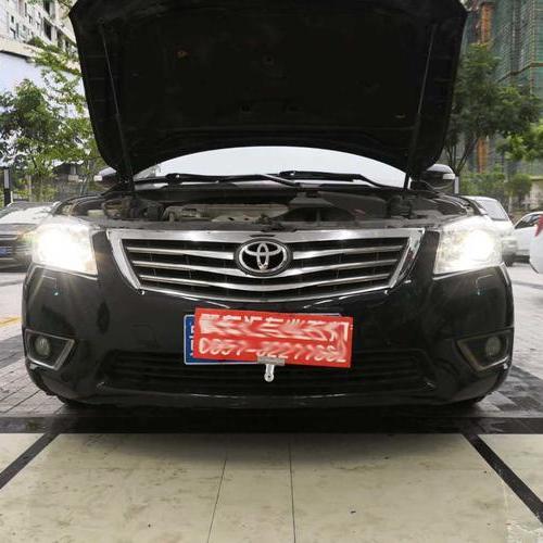 贵阳丰田凯美瑞车灯升级米石性能版LED双光透镜套装