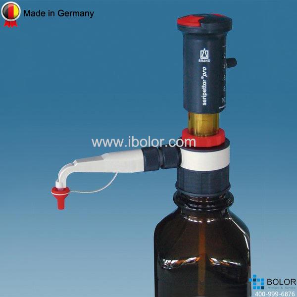 Brand/普蘭德 Seripettor pro 瓶口分液器,2.5-25mL 4720450